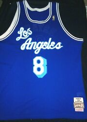Mitchell And Ness Kobe Bryant 8 Los Angeles Lakers 50th Anniversary Jersey