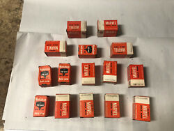 Machinist Tool Lathe Mill Lot Of Unused Hole Saws In Boxes Nicholson Marvel Lt1
