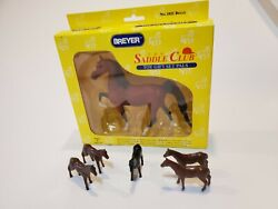 1994 Breyer Saddle Club #1021 Belle new in box with 5 small horses lot vintage