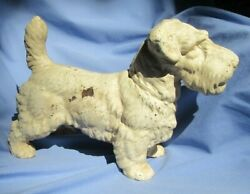 SEALYHAM CESKY TERRIER HUBLEY CAST IRON DOOR STOP 14