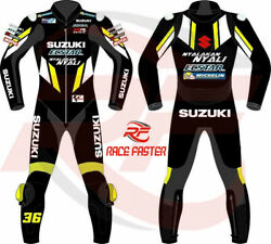 New Suzuki 2019 Ecstar Gsxr 1 And 2 Piece Motorbike Motorcycle Racing Leather Suit