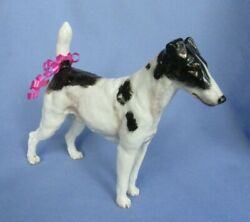 SMOOTH FOX TERRIER ROYAL DOULTON HN 1069 DOG 8