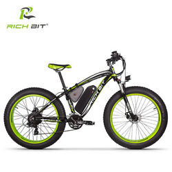 RichBit RT-012 Plus 21s Electric Bike With Computer Speedometer Electric 1000W
