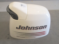 5033959 Johnson Evinrude Engine Cover Top Motor Cowling 140 Hp 4 Stk 2003-05
