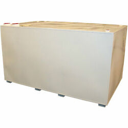 Midwest Industrial Tanks Double-Wall Fuel Storage Tank- 1,000-G Cap,