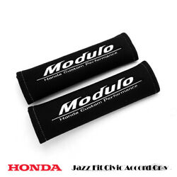 Seat Belt Cover Modulo For Honda Jazz Fit Civic Accord Cr-v 2000 - 2019