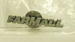 Farmall Logo Trademark Metal Hat Lapel Pin Tie Tac New And Sealed In Bag Tractor