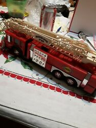 Vintage Sunoco Fire Truck 1995.works Perfect With Batteries Free Shipping