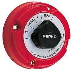 Boat Battery Selector Switch Marine Batteries Power Control Switch Perko 11500