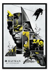 Batman 80th Anniversary Magnetic Notice Board Includes Magnets 24x36