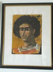 Panaretos By Tsarouchis Silk Print On Paper Limited - 21/99 Signed By The Artist