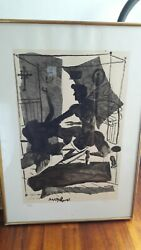 December By Tsarouchis Silk Print On Paper Limited - 72/99 Signed By The Artist