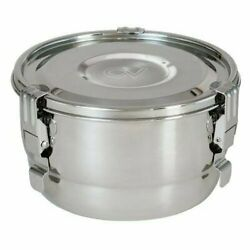 Cvault 2 Liter Humidity Control Airtight Metal Stash Container Humidipack 7 X 4