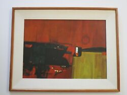 JOHN DESATOFF PAINTING MODERNISM PAINTING ABSTRACT EXPRESSIONISM VINTAGE RETRO