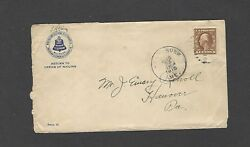 427 1916 New England Telephone And Telegraph Co,kennebunk,me Advertising Cover