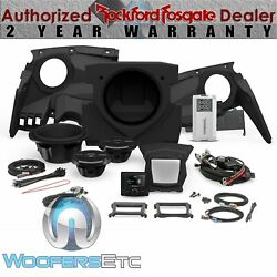 Rockford Fosgate Pmx3upgr-x317-stage3 Audio Kit For Select Can-am Maverick X3