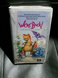 We're Back A Dinosaur Story Movie Vhs New Sealed