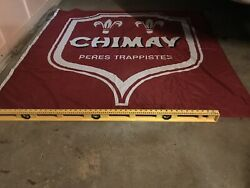 Classic Chimay Large Wall Banner Flag - Huge 56x 56 Belgian Beer Trappist