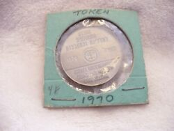 74a- 1970 Seasonand039s Greetings Israel Government Coins And Medals Corp Coin