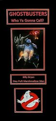 Billy Bryan Original Ghostbusters Signed Photograph-matted Ready To Frame