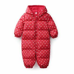 Cute Winter Newborn Clothes Baby Rompers Infant Overalls Costumes Jumpsuits Gift