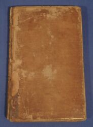 Rare 1735 Account Of The Barometer Or Weather Glass By Edward Saul Leather Hc