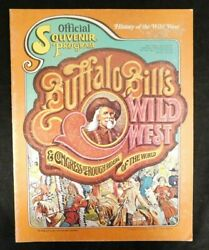 Buffalo Bill's Wild West And Congress Of Rough Riders Of The World Program