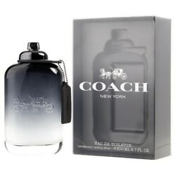Coach by Coach 6.7 oz EDT Cologne for Men Brand New In Box $46.10
