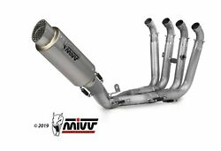 Complete Exhaust 4x2x1 Mivv Gppro Stainless Bmw S 1000 Rr 2017-2018
