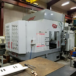 USED HAAS 4-Axis HS2RP Horizontal CNC Machining Center wAccessories