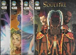 Michael Turner's Soulfire 2004 Series Lot Of 4 - 2 Cover A, B, C And D Nm-aspen