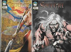 Michael Turner's Soulfire 2009 Series Lot Of 2 - 5 Cover A And B Nm- Aspen