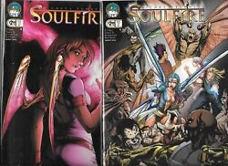 Michael Turner's Soulfire 2009 Series Lot Of 2 - 7 Cover A And B Nm- Aspen