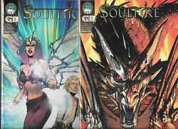 Michael Turner's Soulfire 2009 Series Lot Of 2 - 8 Cover A And B Nm- Aspen