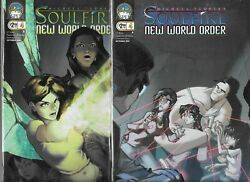 Michael Turner's Soulfire New World Order Lot Of 2 - 4 Cover A And B Nm- Aspen