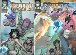 Michael Turner's Soulfire New World Order Lot Of 2 - 5 Cover A And B Nm- Aspen