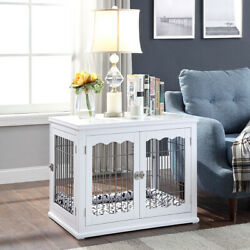 (OUT OF STOCK) Unipaws Dog Crate with Pet Cushion Durable Dog Kennel Dog House