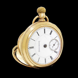 Early Peoria Watch Co. 15j Hunting Case Pocket Watch Movement 8685 Circa 1888