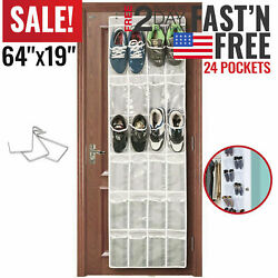 Over The Door Shoe Organizer Rack Hanging Storage Holder Hanger Bag Closet