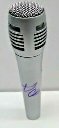 Sabrina Claudio Stand Still Frozen Signed Microphone Mic