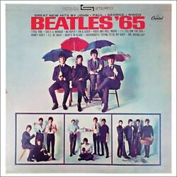 The Beatles '65 Capitol Records Promotional Display Usa