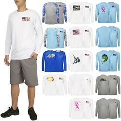 Performance Fishing Shirts For Men Long Sleeve Upf 50 Protection Outdoor T-shirt