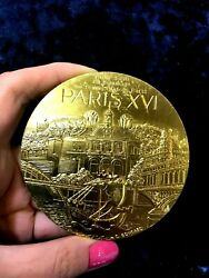 1996 Centenary Paris Tennis Club Centenary Olympic Games French Medal By Condard