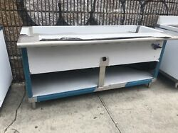 72 6ft Stainless Steel Electric Steam Table 5 Pans Single Element 208v 1ph Nsf