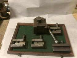Machinist Tools Lathe Mill Quick Change Wedge Type Tool Post And Holders Basmt