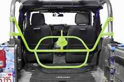 Fits Jeep Wrangler Jk Gecko Green Bumpers Tire Carrier Made In Usa J0046573