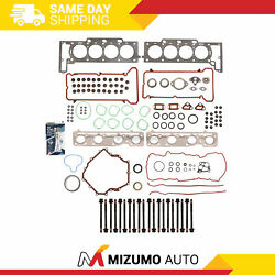 Full Gasket Set Head Bolts Fit 06-11 Cadillac Dts Buick Lucerne 4.6l Dohc Y 9