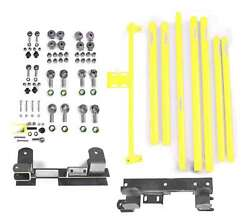 Fits Jeep Wrangler Tj Neon Yellow Suspension Lift Kits  Made In Usa J0046856