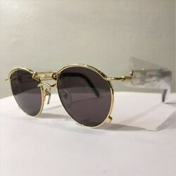 Sunglasses 56-0174 Vintage Gold 2PAC 2Chainz wearing model[99]