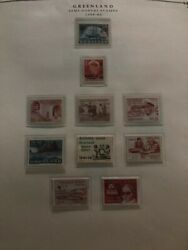 Greenland High Values Booklets Souvenir Sheets And Stamp Collection Lot Mxe
